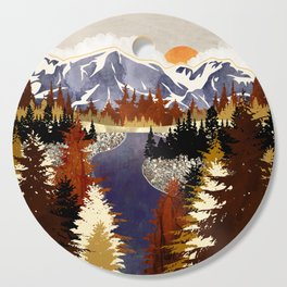 Autumn River Cutting Board