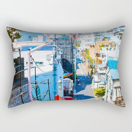 Japan - 'Your Name Street' Rectangular Pillow