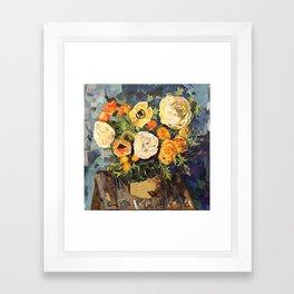 Tin Can Studio Floral #3 Framed Art Print