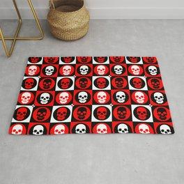 Skull Pattern   Pop Art Rug