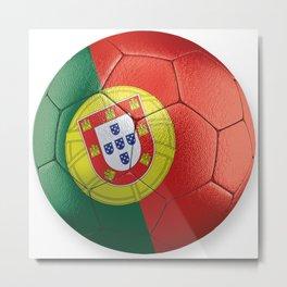 Portugal Soccer Metal Print
