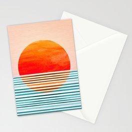 Minimalist Sunset III Stationery Cards