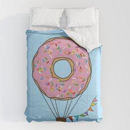 Donut Hot Air Balloon Comforters