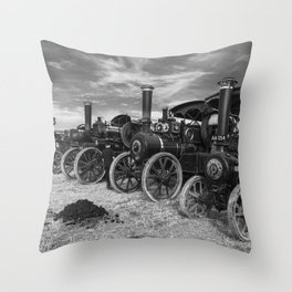 Traction Line Up Throw Pillow