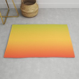 Tropical Colorful Gradient Pattern Rug