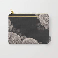Flowers on a winter night Carry-All Pouch