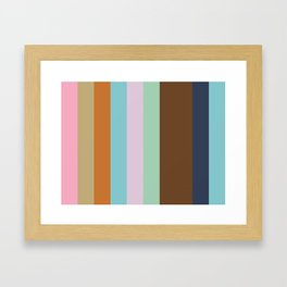 NEOCLASSIC Abstract Pattern Framed Art Print