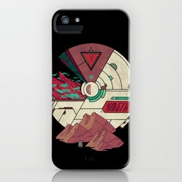 Visions of a New Homeworld iPhone Case