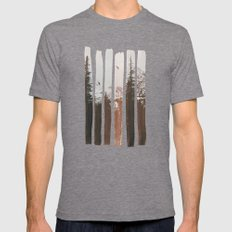 Into The Wild Tri-Grey MEDIUM Mens Fitted Tee