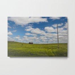 Abandoned Farm, Burleigh County, North Dakota 1 Metal Print