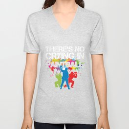 No Crying In Paintball Color Balls Paintball Gift Unisex V-Neck