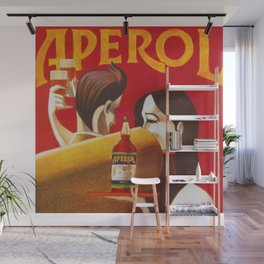 Aperol Alcohol Aperitif Spritz Vintage Advertising Poster Wall Mural