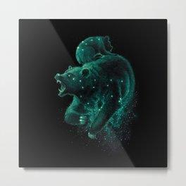Ursa Major & Minor Metal Print