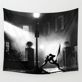 Exorcist Calling Wall Tapestry