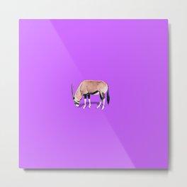 Wildebeest Metal Print