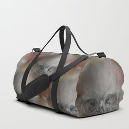 halloween skull - seamless pattern Duffle Bag