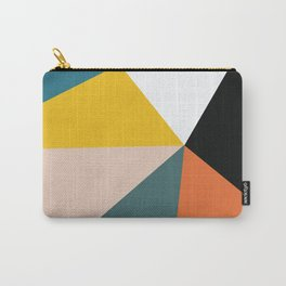 Triangles abstract colorful art Carry-All Pouch