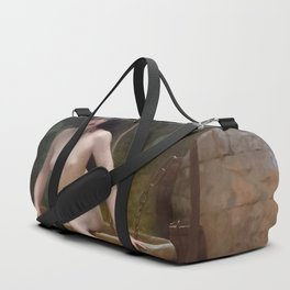TRUTH COMING OUT OF HER WELL TO SHAME MANKIND - JEAN-LEON GEROME Duffle Bag