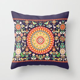 Wayuu Tapestry - II Throw Pillow