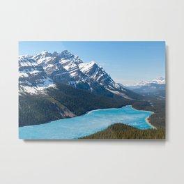 Peyto Lake - Banff National Park, Canada Metal Print