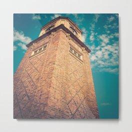 St Kilda Clock Tower Metal Print