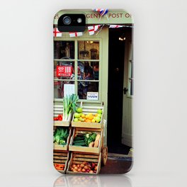 Blockley Village Shop Cotswolds Gloucestershire iPhone Case