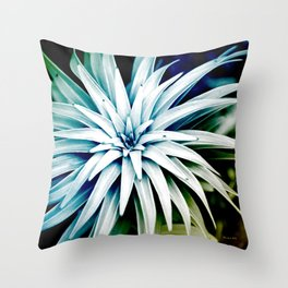 Spiral Abstract Art Throw Pillow