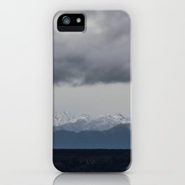 Olympic Mountains, Hansville, WA iPhone Case
