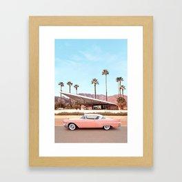 Palm Springs Gerahmter Kunstdruck