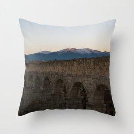 Evening in Segovia Throw Pillow