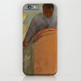 African American Masterpiece 'Faith - The Pursuit of Happiness' by Vertis Hayes 1937 iPhone Case