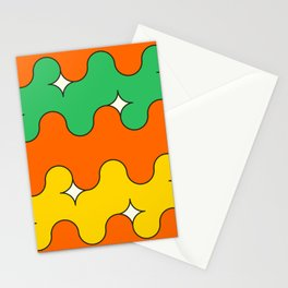 cartoon magic waves Stationery Cards