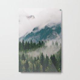 Vancouver Fog Metal Print