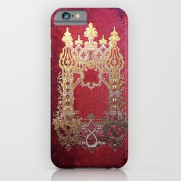Ink Stained Crimson Book iPhone Case