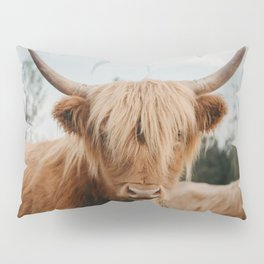 Highland Cow In The Country Pillow Sham