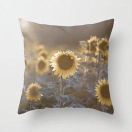 Sunflowers #1 Throw Pillow