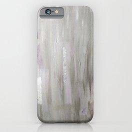 Lavender & Silver iPhone Case