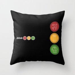 Blink 182 Throw Pillow