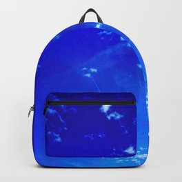 Clouds and Vapor Trails Abstract Backpack