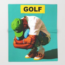 Golf wang Tyler The Creator Throw Blanket