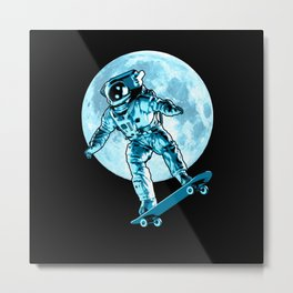 Astro Flip Metal Print
