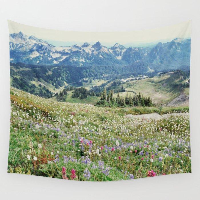 Wildflower Meadow Wandbehang