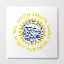 South Dakota seal  Metal Print