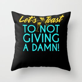 Lets Toast - Gift Throw Pillow