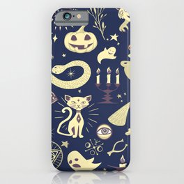 Halloween Magic iPhone Case