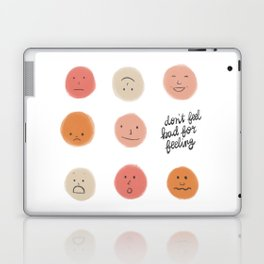 Feelings Laptop & iPad Skin