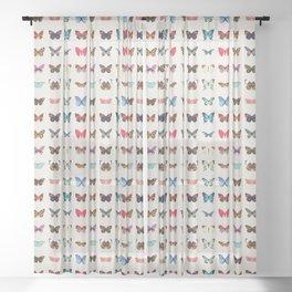 Butterflies Sheer Curtain