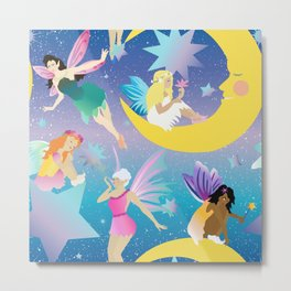 Fairy Dreamland Metal Print