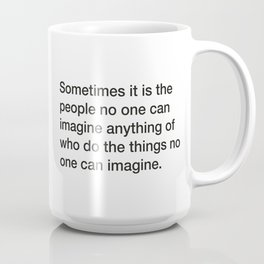 Stephen Hawking quote about intelligence [White Edition] Coffee Mug