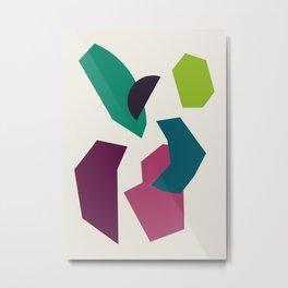 Abstract No.16 Metal Print